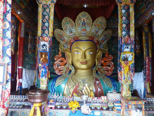 Future Buddha in Thiksey Monastery