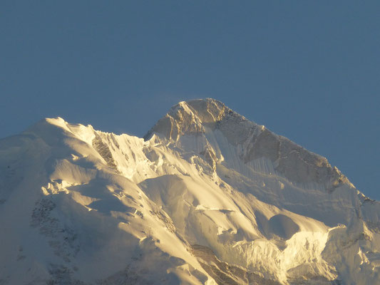 sunset at Rakaposhi Peak