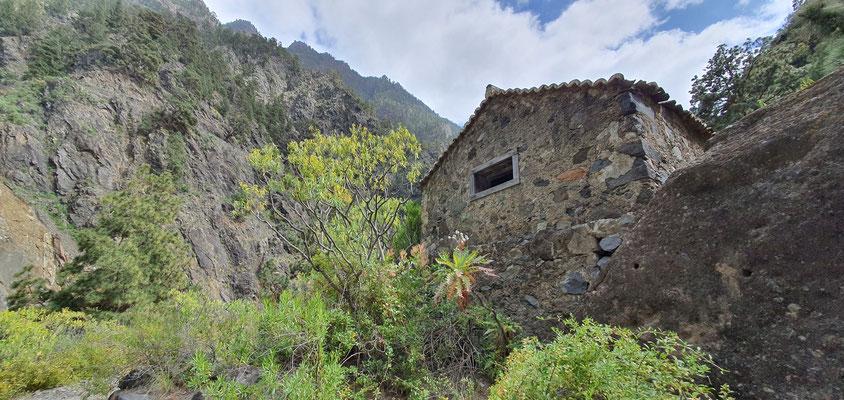 Wanderweg Oberhalb vom Barranco de las Angustias