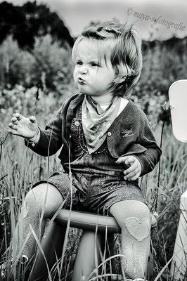 Schwarz&weis Kinderfotos