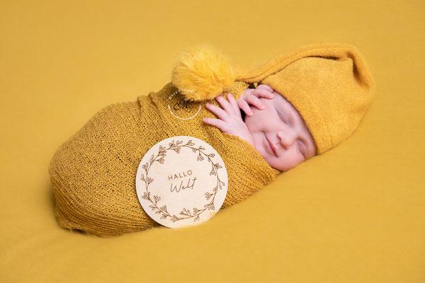 Neugeborenen Shooting Titz