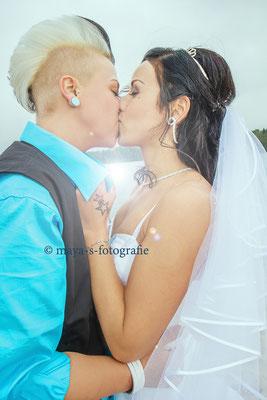 Mein heutiges Brautpaar eint die Liebe zum Wasser.