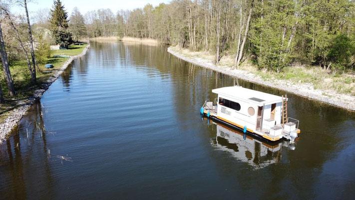 Hausboot mieten in Brandenburg. Auf der Havel
