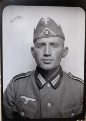 Der 35-jährige Familienvater Fritz Rumpf fiel an der Ostfront. (Quelle: Stadtarchiv Unna)