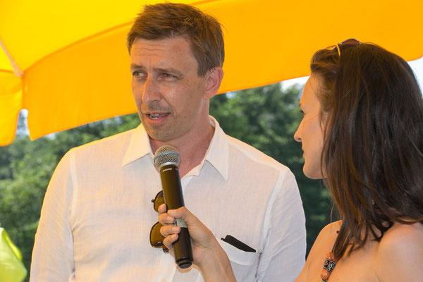 Thomas Sternad, Bereichsleiter von B3-Netzwerk Steiermark,erzählt über seinen Aufgabenbereich