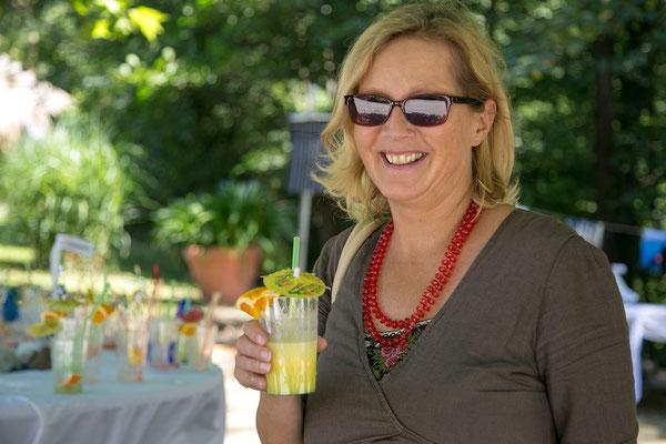 Kam gerne vorbei: Birgit Fischer Unterabteilungsleiterin Abt. 4 Finanzen des Landes Kärnten