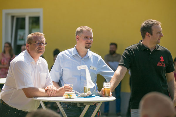 Gerne mit dabei: Geschäftsführer Dietmar Pogatschnig, Maximilian Märker und Anto Nikic von unserem Software-Partner dBIT aus St. Veit/Glan