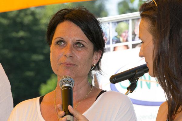 """Irene Maurer-Scheidenberger, Bereichsleiterin """"Betreutes Wohnen"""" spricht über die Schritte in die Selbstständigkeit"""