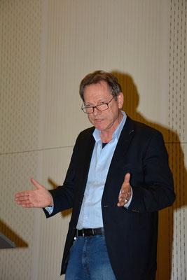 Moderator Jochen Bendele, Journalist der Kleinen Zeitung