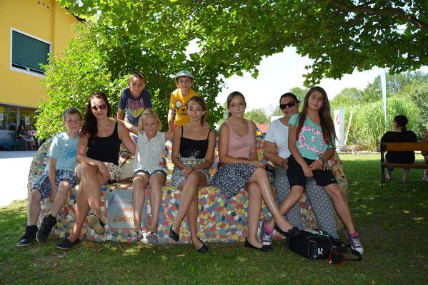 Junge Gäste am B3-Sommerfest
