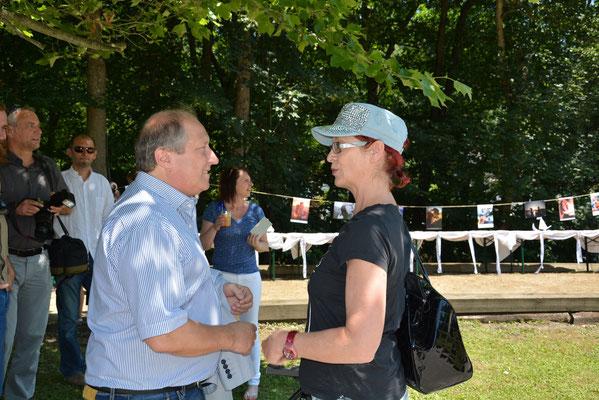 Rolf Holub im Gespräch mit Gabriele Zauchner von KT1