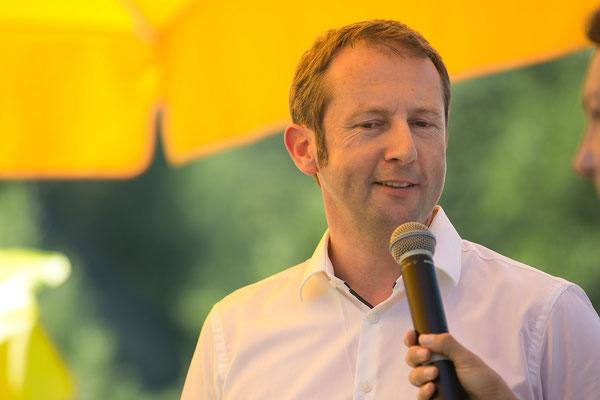 Christian Sickl, wirtschaftlicher Geschäftsführer von B3-Netzwerk erklärt, dass sich Wirtschaftlichkeit und soziales Engagement nicht ausschließen