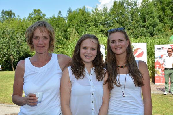 Angelika Gferer, Nathalie Kofler und Julia Kratzwald