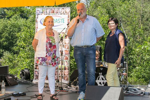 Die Gesellschafter von B3-Netzwerk, Christa Uhl, Gerald Uhl und Brigitta Prochazka, stellen sich vor