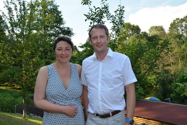 Kathrin Partl, Pädagogische Geschäftsführung und Christian Sickl, Wirtschaftliche Geschäftsführung
