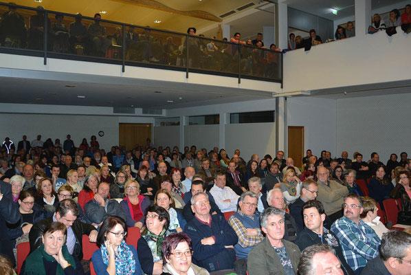 Rund 400 Interessierte folgten der Einladung zum Info-Abend in das Haus der Musik