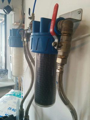 entretien filtres cartouche charbon actif et cartouche bobinée