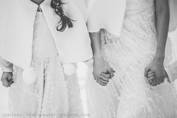 emmanuelle-gervy-mariage-tenue-enfant-fille-cape-gilet-montagne-hiver-isere