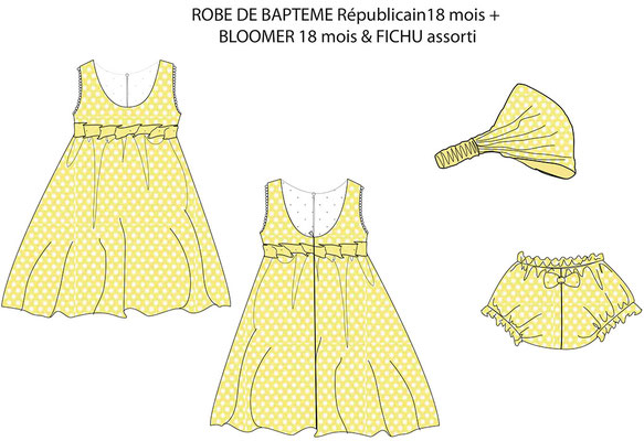 croquis-couleur-proposition-robe-de-baptême-civil-creation-unique-grenoble-emmanuelle-gervy