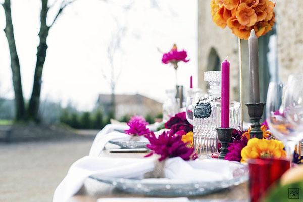 mariage-decoration-champetre-chandelle-chateau-carmes-isere-vercors
