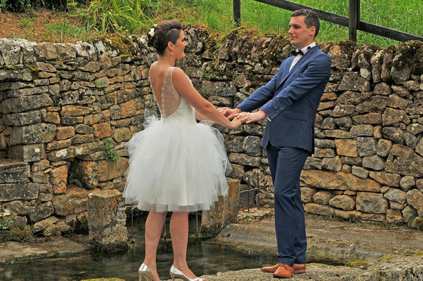 robe-de-mariée-courte-style-rock-champetre