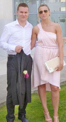 robe-demoiselle-d'honneur-rose-pale-satin-crêpe-drapé-sur-mesure-emmanuelle-gervy