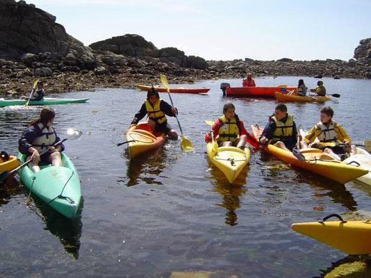 Kayak (centre nautique de Port-Blanc)