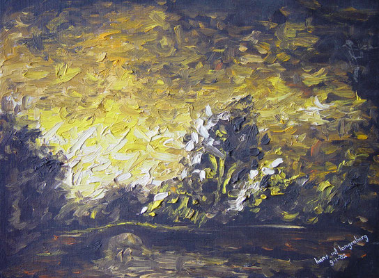 Olieverf op canvas