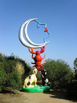 Giardino dei Tarocchi (Toscane) van Niki de Saint Phalle