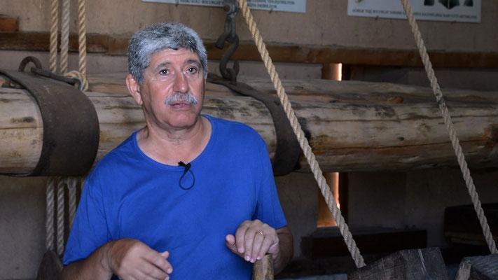 Ali Ertan İplikçi   Klazomenai Antik Zeytinyağı İşliği Müdürü