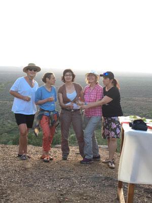 TouchLife Kolleginnen am Poachers Lookout - dem Wilderer Aussichtspunkt