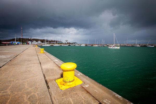 Blick auf die Nordkaje / Südhafen
