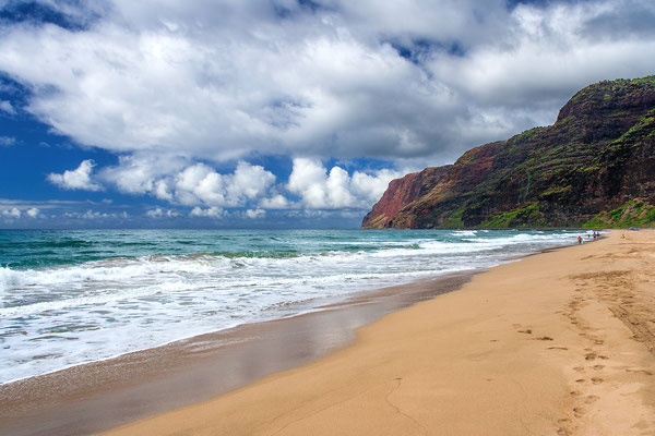 Kauai: Polihale State Park: Barking Sands Beach