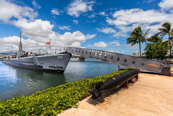 Oʻahu: Pearl Harbour: U.S.S. Bowfin