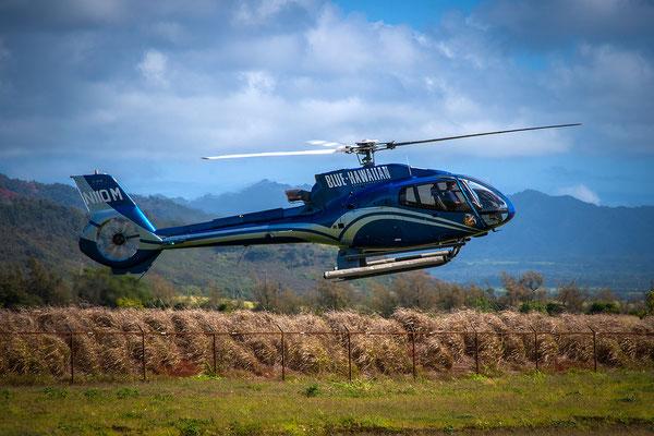 Kauai: Lihue Airport: Airbus Eco-Star - Take off