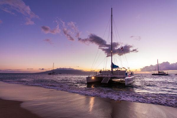 Maui: Kaanapali Beach: Disembarking