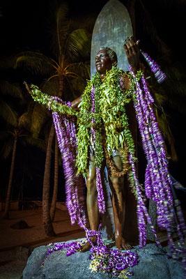 Oʻahu: Waikīkī: Duke Kahanamoku Statue