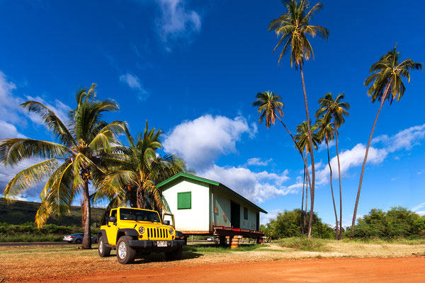 Kauai: Somewhere beside the road