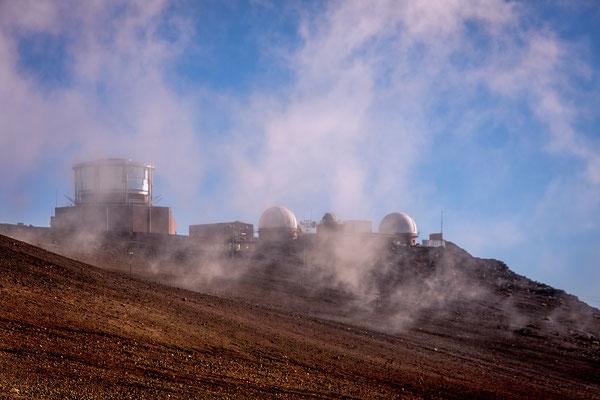 Maui: Haleakala National Park: Science City with Advanced Electro-Optical System