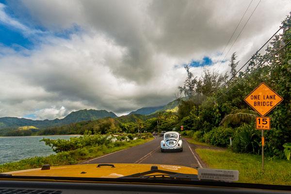 Kauai: North Shore: Kuhio Highway