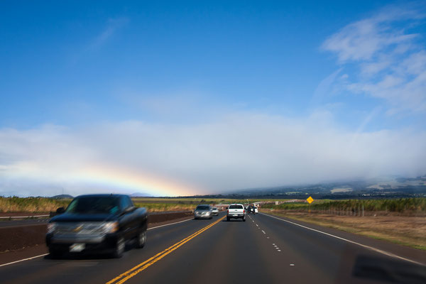 Maui: Haleakala Highway: Driving up to 3055 m above sea level
