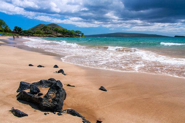Maui: Maluaka Beach: Let's go swimming into Turtle Town