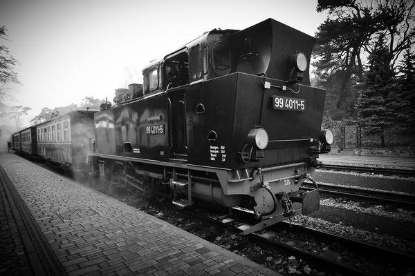 Rügen: Granitz, Rasender Roland