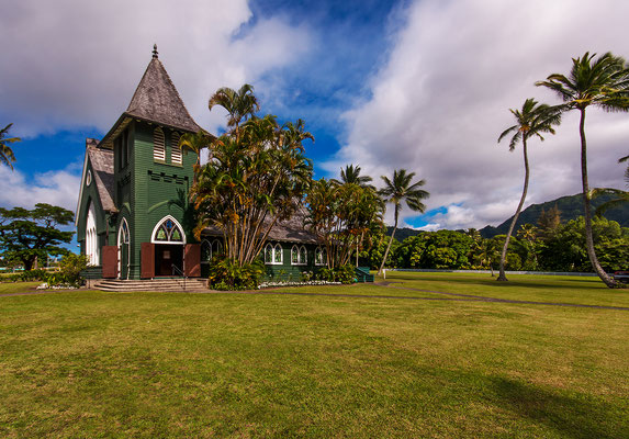 Kauai: Hanalei Valley: Waiʻoli Huiʻia Church