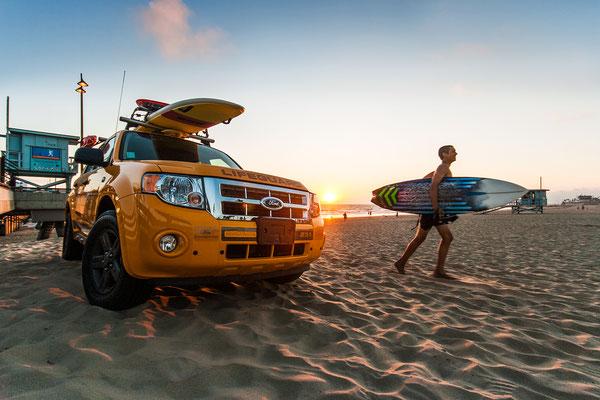 Venice Beach: Lifeguard
