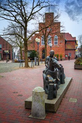 Wildeshausen: Waltbertdenkmal 2018