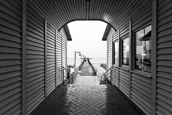 Rügen: Göhren, Seebrücke