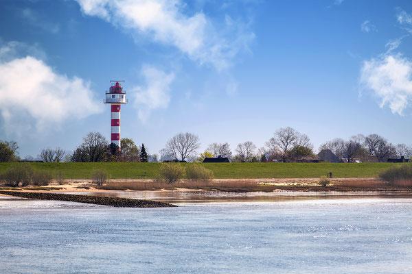 Leuchtturm Steindeich / 53° 44′ 1,1″ N, 9° 27′ 28,4″ O /Kollmar