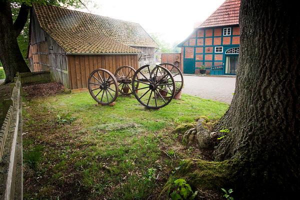 Dötlingen: Fachwerk-Bauernhaus 2011