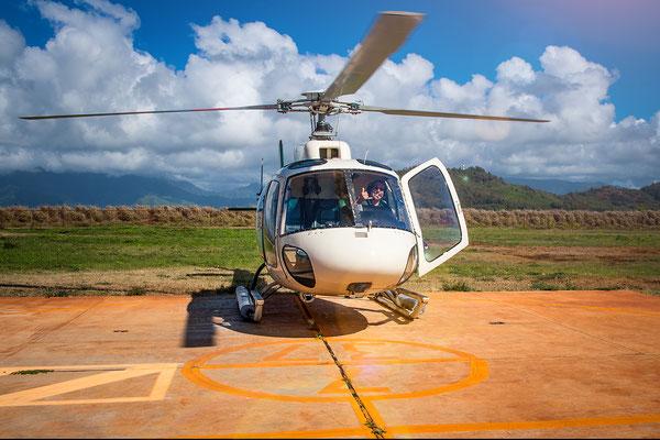 Kauai: Lihue Airport: Waiting for take off